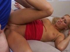 Cum slurping hot slut
