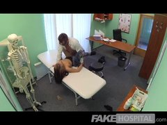 FakeHospital – Doctors cock drains student
