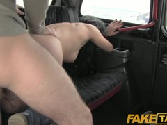FakeTaxi – Black hair tattooed young British